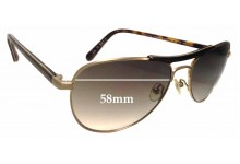 Original Penguin The Cameron Sun Replacement Sunglass Lenses - 58mm Wide