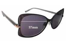 Osiris Sun RX Flora Replacement Sunglass Lenses - 57mm wide
