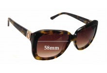 Sunglass Fix New Replacement Lenses for Oroton Anouk - 58mm Wide