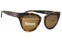 Oroton Cecile New Sunglass Lenses - 50mm Wide