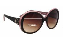 Oroton Divine New Sunglass Lenses - 57mm wide