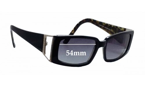 Oroton Milano II Replacement Sunglass Lenses - 54mm wide