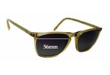 Oscar Magnuson 237 Replacement Sunglass Lenses - 56mm wide x 42mm tall
