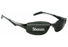 Osiris Sun 3 Replacement Sunglass Lenses - 56mm wide
