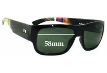 Otis Clockwork Replacement Sunglass Lenses - 58mm wide