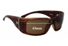 Otis Flux Replacement Sunglass Lenses - 63mm Wide
