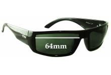 Otis Moto Replacement Sunglass Lenses - 64mm wide
