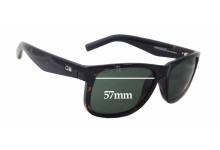 Otis Paradisco Replacement Sunglass Lenses - 57mm wide x 45mm tall