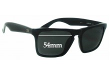 Otis Reckless Abandon Replacement Sunglass Lenses - 54mm wide