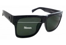 Otis The Beat Replacement Sunglass Lenses - 58mm wide x 43mm tall