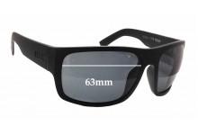 Otis Tough Love Replacement Sunglass Lenses - 63mm wide x 48mm tall