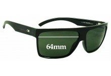 Otis Young Blood Replacement Sunglass Lenses - 64mm wide