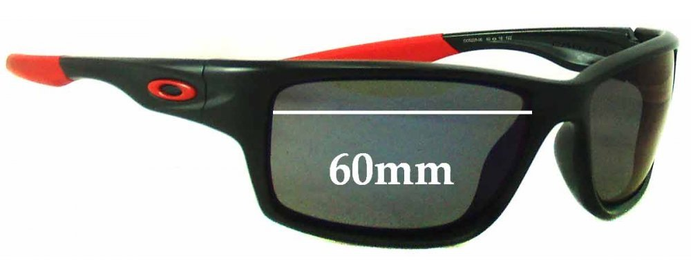 Oakley Canteen Rectangle OO9225 Replacement Sunglass Lenses - 60mm Wide