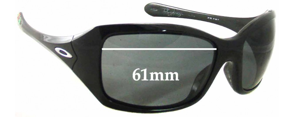 Oakley Ravishing Taca Replacement Sunglass Lenses - 61mm Wide