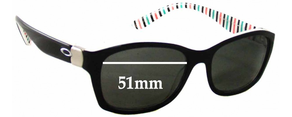 Oakley Convey Replacement Sunglass Lenses - 51mm wide