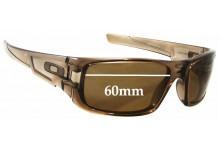 Oakley Crankshaft Replacement Sunglass Lenses - 60mm wide