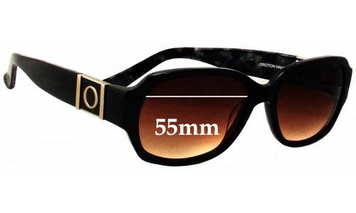 Oroton Panama Replacement Sunglass Lenses - 55mm Wide
