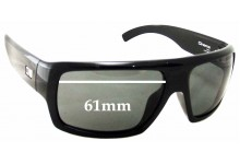 Otis Cinema Replacement Sunglass Lenses - 61mm wide