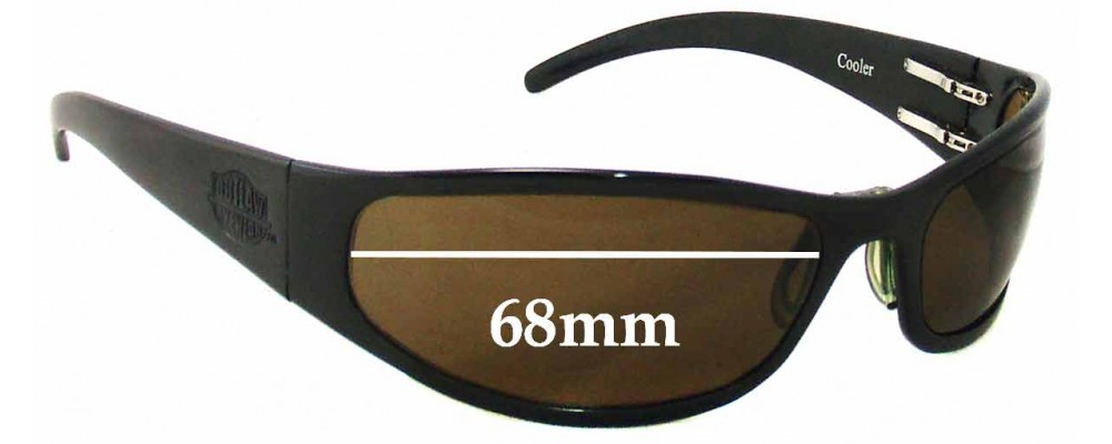 Outlaw Eyewear Cooler Replacement Sunglass Lenses - 68mm Wide
