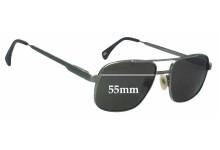 Paul Davids Mod 126 New Sunglass Lenses - 55mm Wide