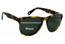 Paul Smith 8164-S Kaiv Replacement Sunglass Lenses - 55mm Wide