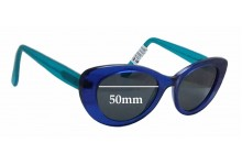 Paul Taylor Clancy Replacement Sunglass Lenses - 50mm wide