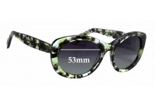 Paul Taylor Sophia Replacement Sunglass Lenses - 53mm wide
