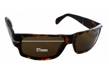 Persol 2720S Replacement Sunglass Lenses - 57mm Wide - 35mm Tall