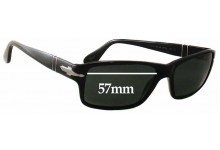 Persol 2761-S Replacement Sunglass Lenses - 57mm Wide