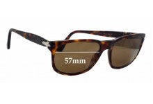 Persol 2989-S Replacement Sunglass Lenses - 57mm wide