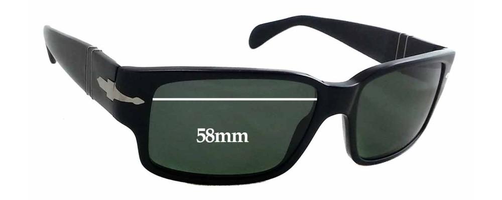 52mm Plus Replacement Lenses for Persol 3024-S Fuse Lenses Fuse