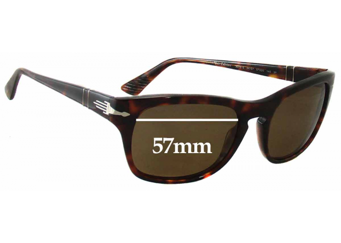 Fuse Lenses Polarized Replacement Lenses for Persol 3047-S