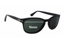 Persol 3086-S Replacement Sunglass Lenses - 56mm wide x 43mm tall