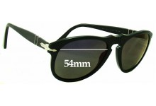 Persol 649 Replacement Sunglass Lenses - 54mm wide
