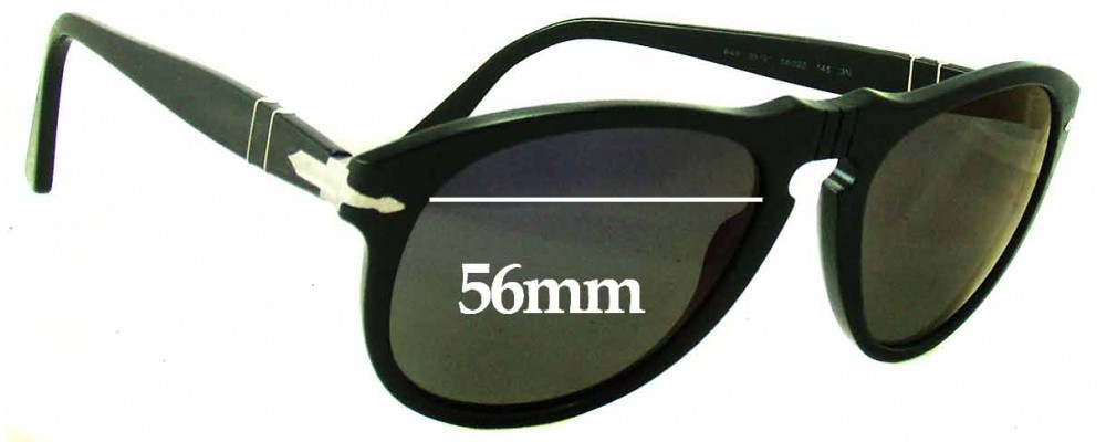 Fuse Lenses Non-Polarized Replacement Lenses for Persol 3018-S 56mm