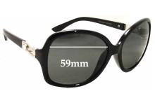 Polaroid POP5086 Replacement Sunglass Lenses - 59mm wide