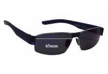 Porsche P'8530 Replacement Sunglass Lenses - 65mm wide