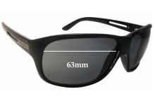 Prada SPR22I Replacement Sunglass Lenses 63mm wide