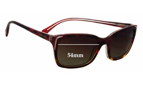 Prada SPR02O New Sunglass Lenses - 54mm wide