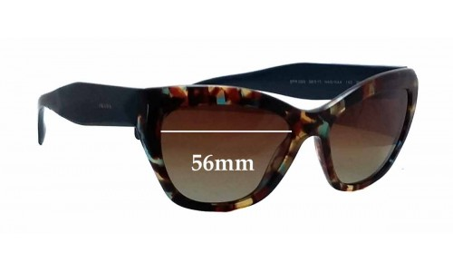 Prada SPR02Q New Sunglass Lenses - 56mm wide