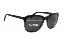 Prada SPR02R Replacement Sunglass Lenses - 57mm wide