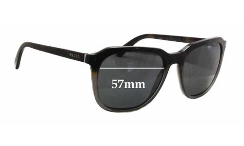 Prada SPR02R New Sunglass Lenses - 57mm wide