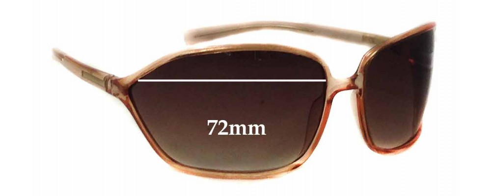 Prada SPR04E Replacement Sunglass Lenses - 72mm wide