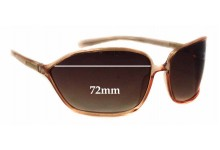 Prada SPR04E Replacement Sunglass Lenses - 72mm wide