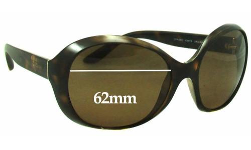 Sunglass Fix Replacement Lenses for Prada SPR04O - 62mm wide