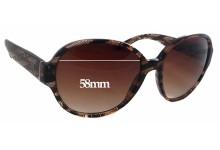 Prada SPR06M Replacement Sunglass Lenses - 58mm wide