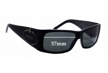 Prada SPR11H Replacement Sunglass Lenses - 57mm wide