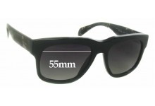 Prada SPR14Q Replacement Sunglass Lenses - 55mm wide