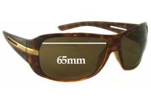 Prada SPR15H Replacement Sunglass Lenses - 65mm Wide