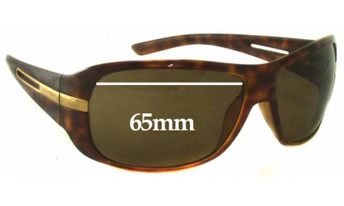 Prada SPR15H Replacement Sunglass Lenses - 65mm Wide